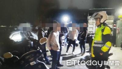 22人試槍準備尋仇 2槍聲招來警察