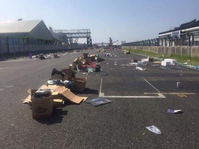 大鵬灣賽道堆垃圾 照片讓網吵翻