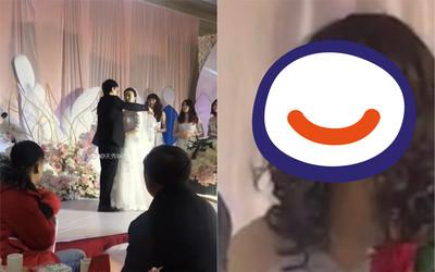 新娘慘淪配角!背後「伴娘」超搶鏡