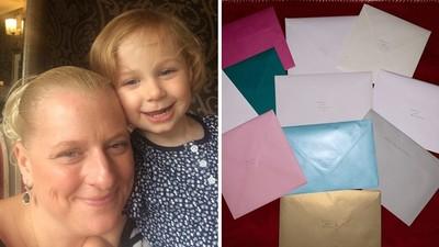 漸凍母「手抖寫完35張生日卡」 女兒打開最後一封崩潰:看不懂字了