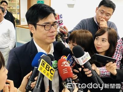 不怕寒流!陳其邁謝人民「給民進黨機會」