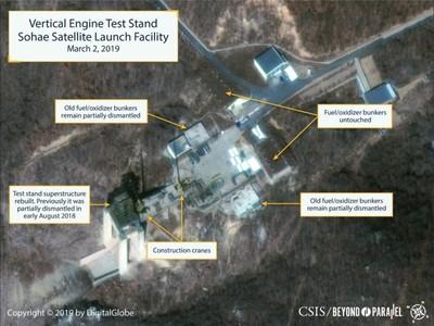 北韓修復發射場 陸慷:以政治對話解決