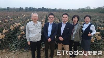 郭國文要讓鳳梨 產地直賣日本