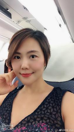 ▲「柳紅」陳瑩近年來頭髮越剪越短。(圖/翻攝自陳瑩微博)