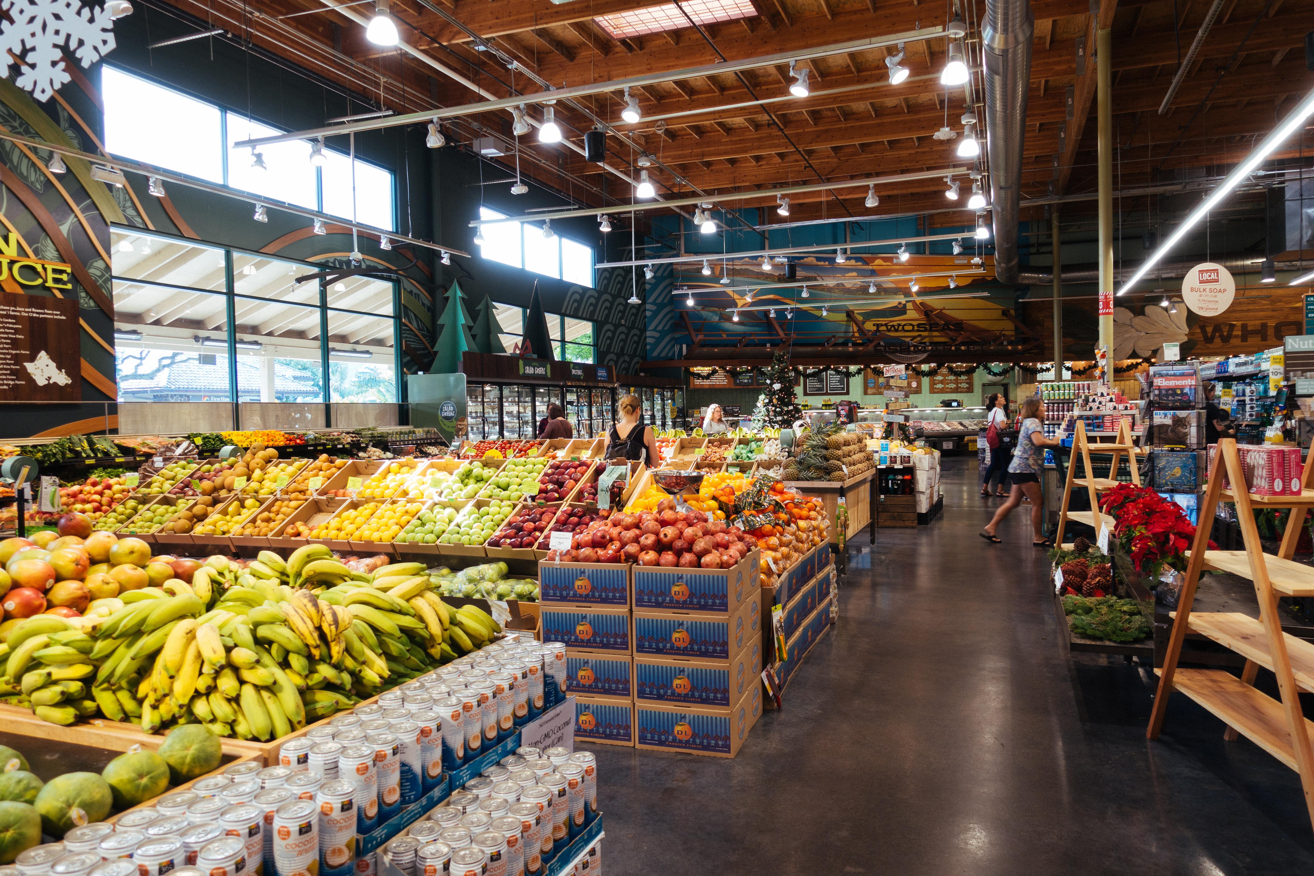 ▲超市,水果,蔬果。(圖/取自免費圖庫pakutaso)