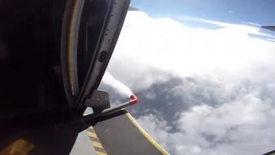 空軍第六聯隊載8噸清水人工增雨