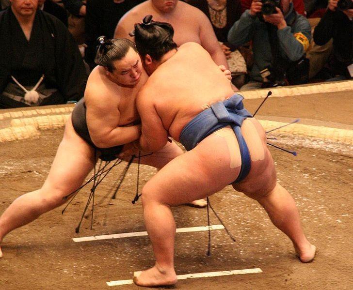 ▲相撲。(圖/阿雜提供)