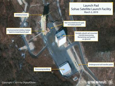 發射地最新衛星圖 北韓測試引擎