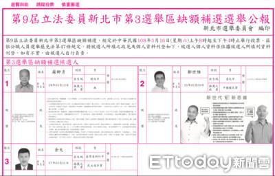 鄭世維把韓國瑜照片搬上選舉公報