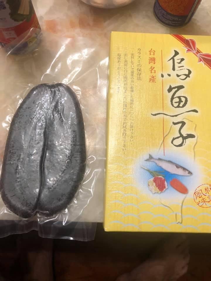 家裡冰箱找到「黑色烏魚子」(圖/翻攝爆廢公社)