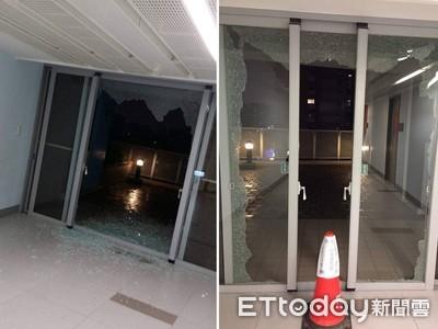北市公宅傳巨響!落地窗爆裂玻璃噴
