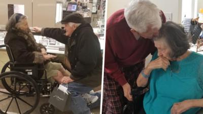 我欠妳一枚戒指!84歲爺爺單膝下跪放閃眾人:63年不夠我們相愛