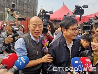 韓國瑜4月不領表  盧秀燕:政治有時身不由己