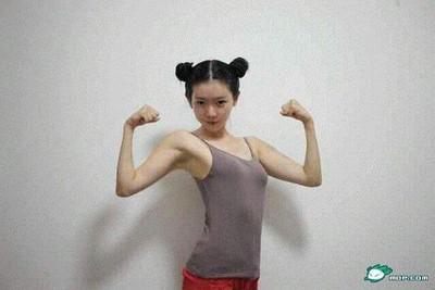 「中國最美女漢子」彌秋女怪獸認豐胸