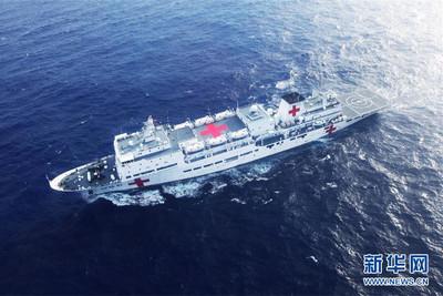 備戰? 大陸海軍年造4艘醫療艦
