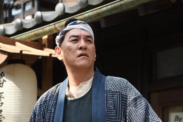▲▼瀧正則在大河劇《韋馱天》扮演足袋屋老闆。(圖/翻攝自推特/韋馱天)