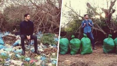 找一塊地恢復乾淨!「垃圾清理挑戰」掀熱潮 前後對照無比舒暢