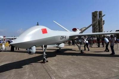 大陸無人機5年賣153架居世界第一