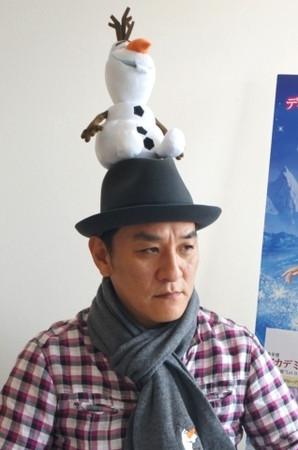 ▲▼瀧正則為《冰雪奇緣》日本版配音。(圖/翻攝自推特)
