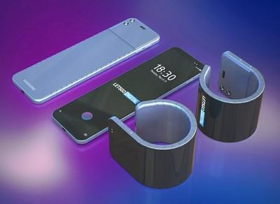 手機變身成手表 三星可彎曲螢幕專利曝光