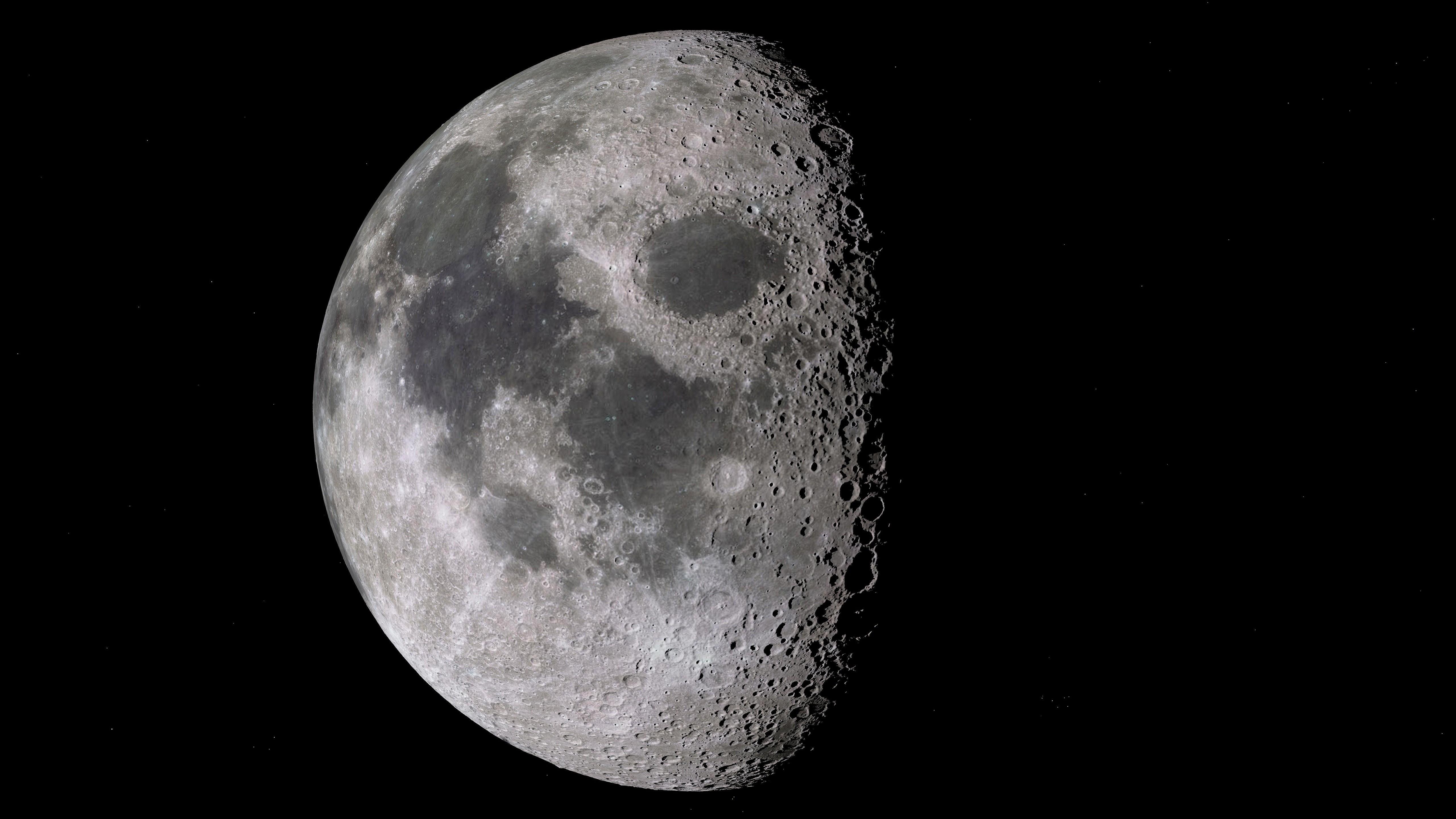 ▲月亮,月球,外太空。(圖/取自免費圖庫Pxhere)