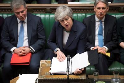 即/英國脫歐協議3度闖關!58票差距再遭國會否決