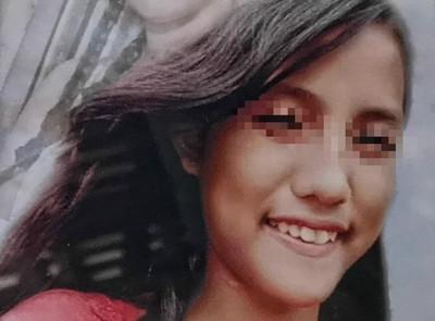 17歲女「臉皮消失」慘露頭骨、大眼睛