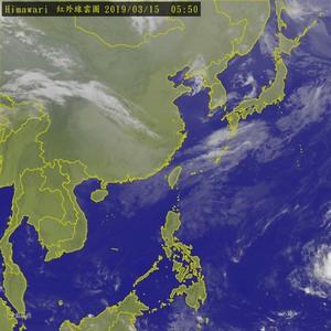 北台灣低溫14度 熱低壓可能成颱