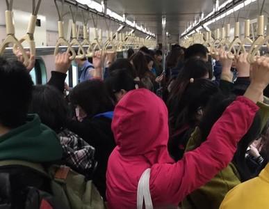 中洲站電車線掉落 大湖保安單線行車