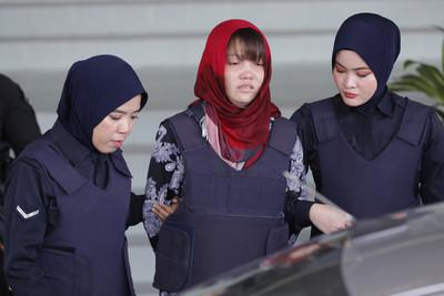 金正男遭毒殺 越南女嫌獲釋