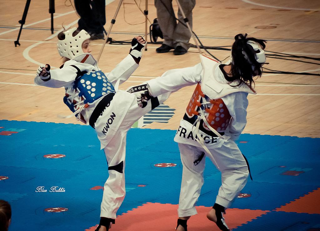 ▲跆拳道。(圖/翻攝自維基百科)
