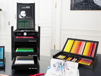 卡爾拉格斐「色筆盒」台灣開賣!