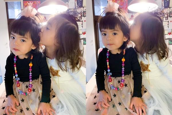 ▲Bo妞2歲生日。(圖/翻攝自Facebook/賈靜雯)