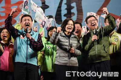 評/民進黨2張牌遏阻韓流 沒贏只倖存最後一口氣