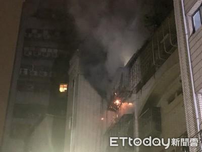 公寓5樓爆炸起火 1家9口全數救出