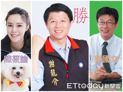 美麗島封關民調 謝龍介52.1%領先郭國文42.7%