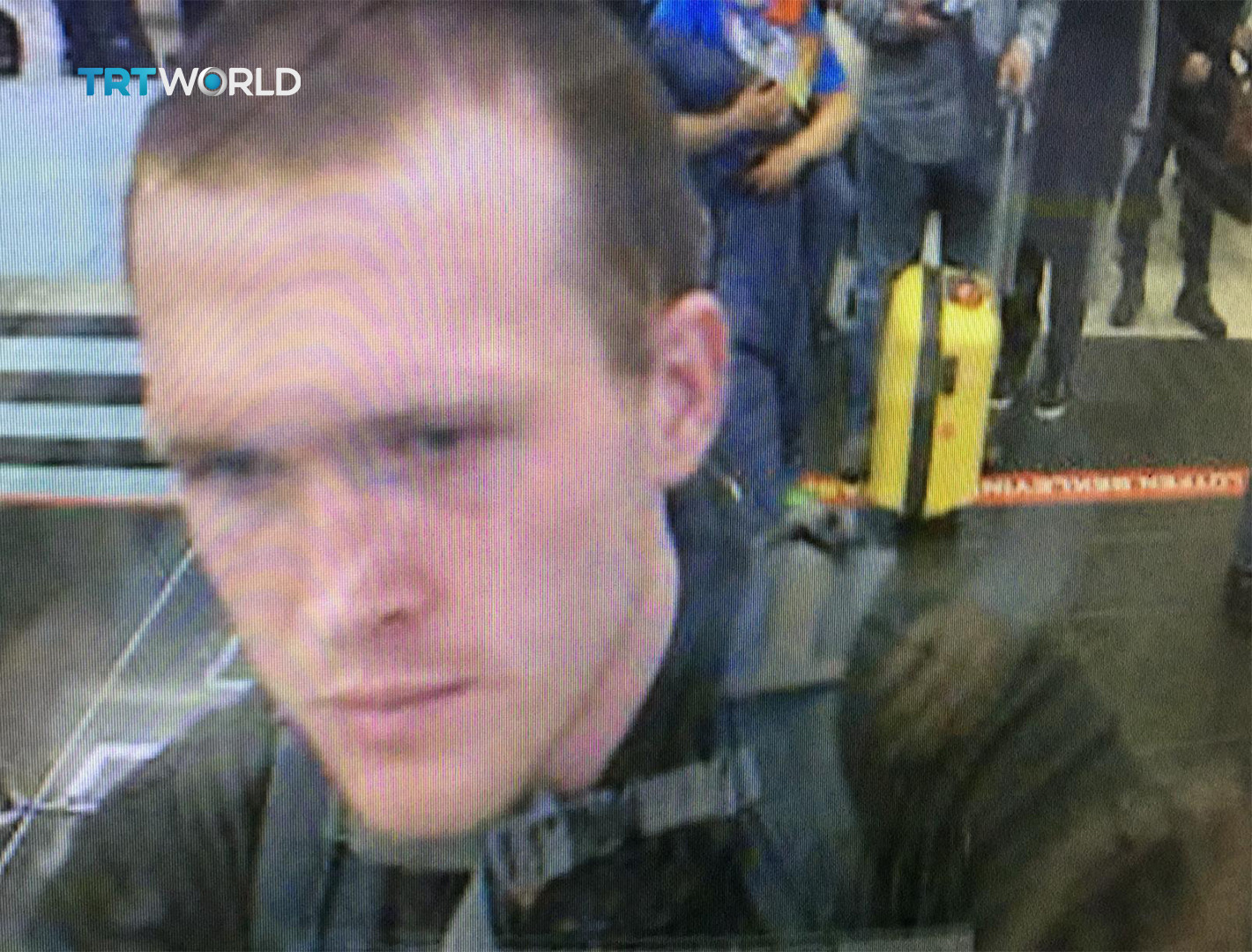 ▲▼ 紐西蘭基督城15日爆發槍案,圖為28歲槍手塔朗特(Brenton Tarrant)2016年3月在伊斯坦堡機場的身影。(圖/達志影像/美聯社)