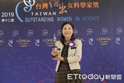 台大數學系李瑩英獲傑出女科學家獎