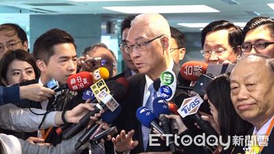 吳敦義談台南選情 反酸民進黨使盡「洪荒之力」救援