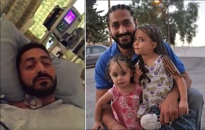 中3槍父躺病床吐心聲:請為我的4歲女兒祈禱