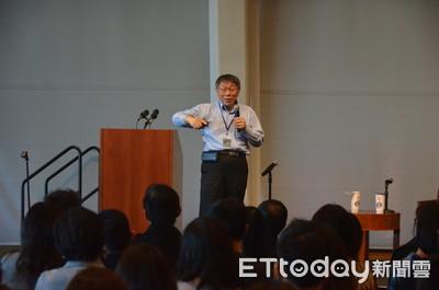 陸生問當台灣區領導人 柯P:應說我當中國領導人