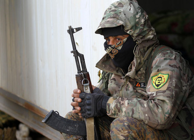 IS最後據點 中國來的聖戰士自首