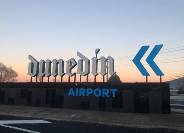▲▼纽西兰达尼丁国际机场(Dunedin Airport)。 (图/翻摄自脸书/Dunedin Airport)