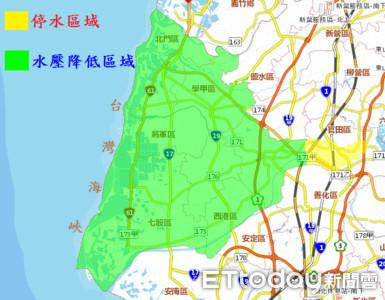 台南官田區水管汰換 4821戶停水23小時