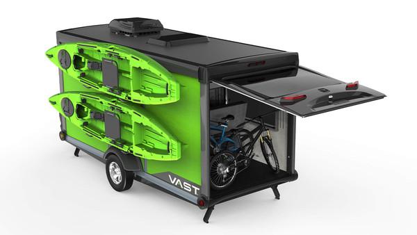 ▲SylvanSport推出最新開發的Vast拖車。(圖/翻攝SylvanSport)