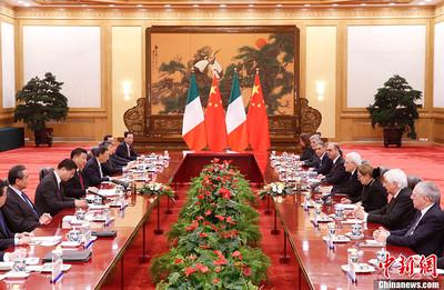 中義元首會談「一帶一路」成焦點
