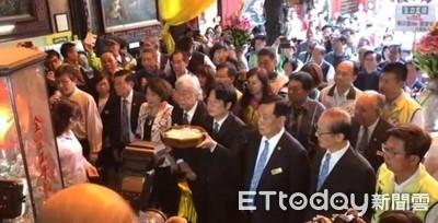 賴清德台南天壇祈福 為台灣未來一起向前