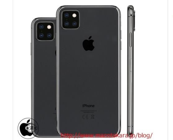 ▲▼新iPhone渲染圖。(圖/翻攝《macotakara》)