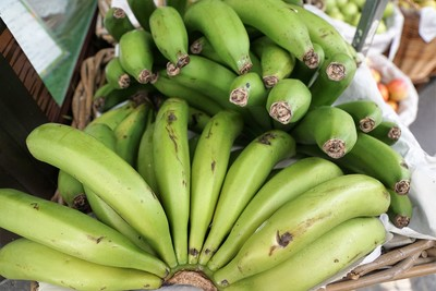 吃綠香蕉治腹瀉!醫:口感像菱角