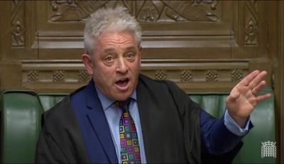 英下議院議長轟:強生硬脫歐像搶銀行